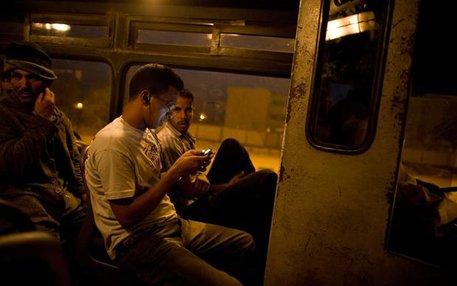 Bevor es in Nordafrika losgeht, noch ein Blick aufs Telefon