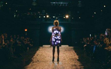 """Da bekommt das Wort """"Dress Code"""" eine völlig neue Bedeutung – ein Kleid des Londoner Labels Cute Circute"""