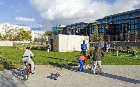 Banlieue de luxe: Arm und Reich leben am Pariser Stadtrand jetzt vis à vis
