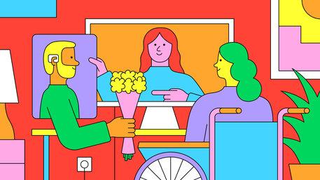 Dating mit Behinderung