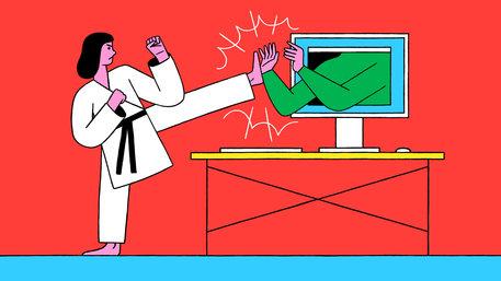 Wie kann ich mich wehren? Illustration: Raúl Soria