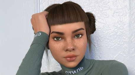 Lil Miquela (Bild: COURTESY OF BRUD)
