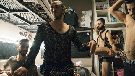 "Szene aus dem Dokumentarfilm ""Mr Gay Syria"""
