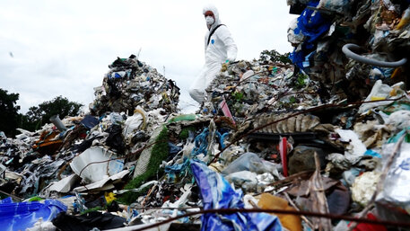 Müll Exporte Polen