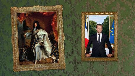 Louis XIV., Macron