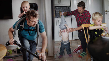 Equal Care, Väter / Foto: Johan Bävman