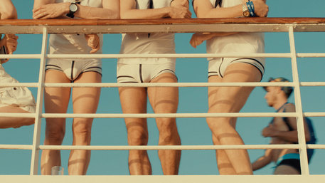 "Szene aus der Doku ""Dream Boat"""
