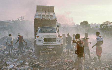 Kingtom Müllhalde in Freetown