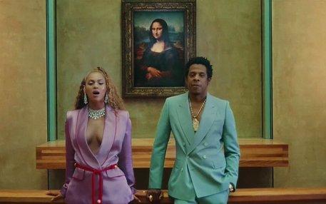 Beyoncé und Jay-Z im Louvre