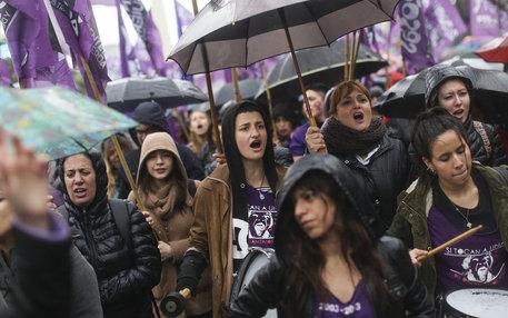 """""""Ni Una Menos"""" Demonstartion in Buenos Aires"""