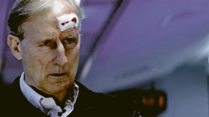 """James Cromwell als PRESIDENT J. ROBERT FOWLER, """"The Sum of All Fears"""" 2002 (Paramount Pictures)"""