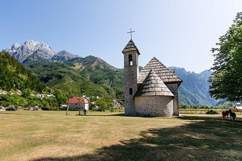 Kirche in Theth