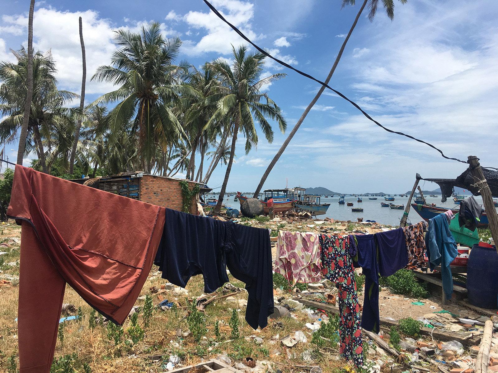 Gender und Klima – Wäscheleine in Vietnam