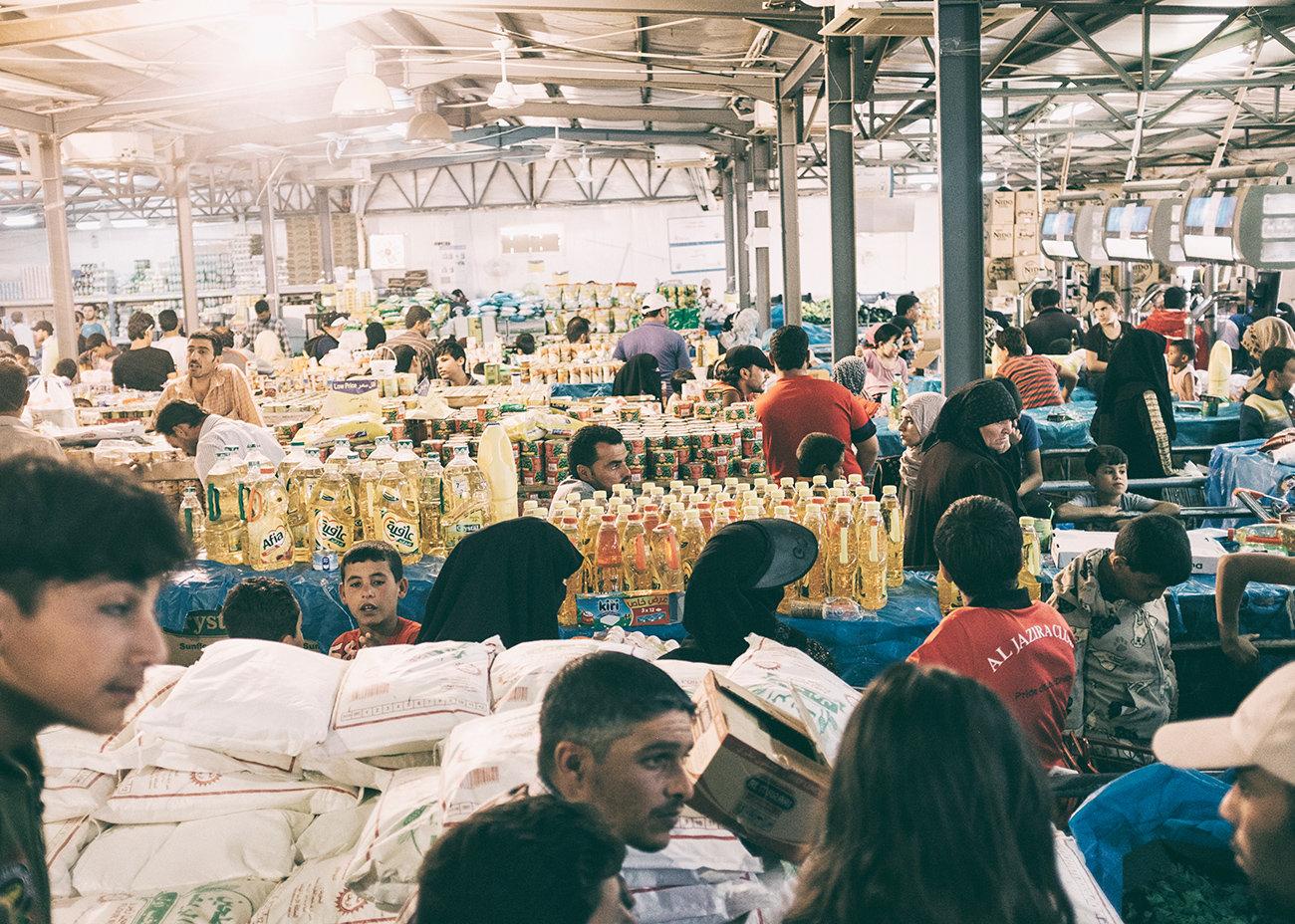 Zaatari Supermarkt